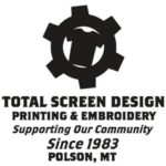 Total Screen and Design logo