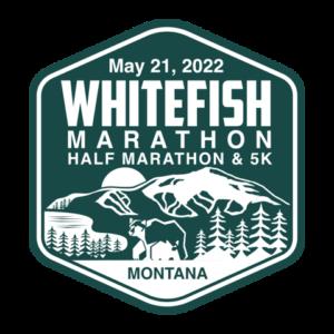 2022 Whitefish Marathon logo